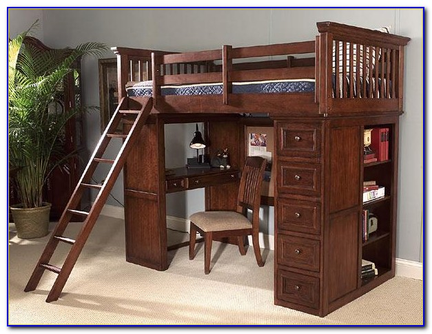 Duro Z Bunk Bed Loft With Desk
