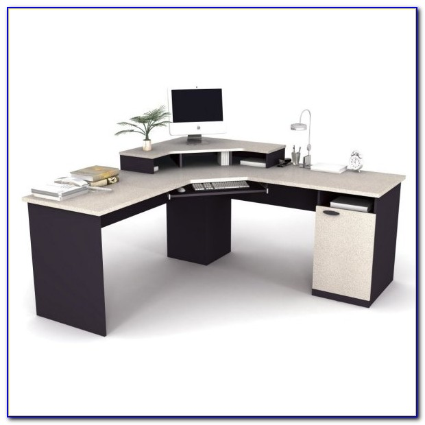 Easy2go Corner Computer Desk Black