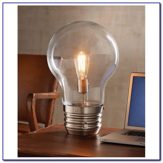 Edison Bulb Desk Lamp