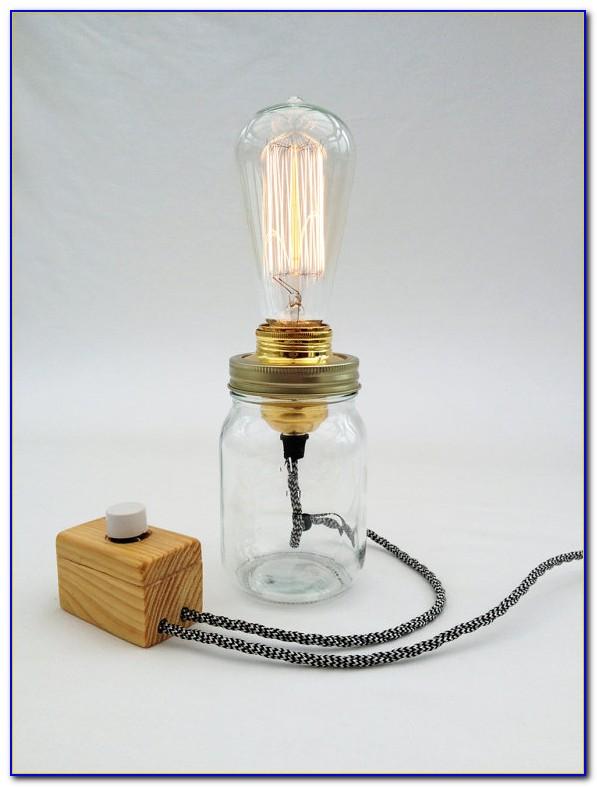 Edison Bulb Table Lamp Diy