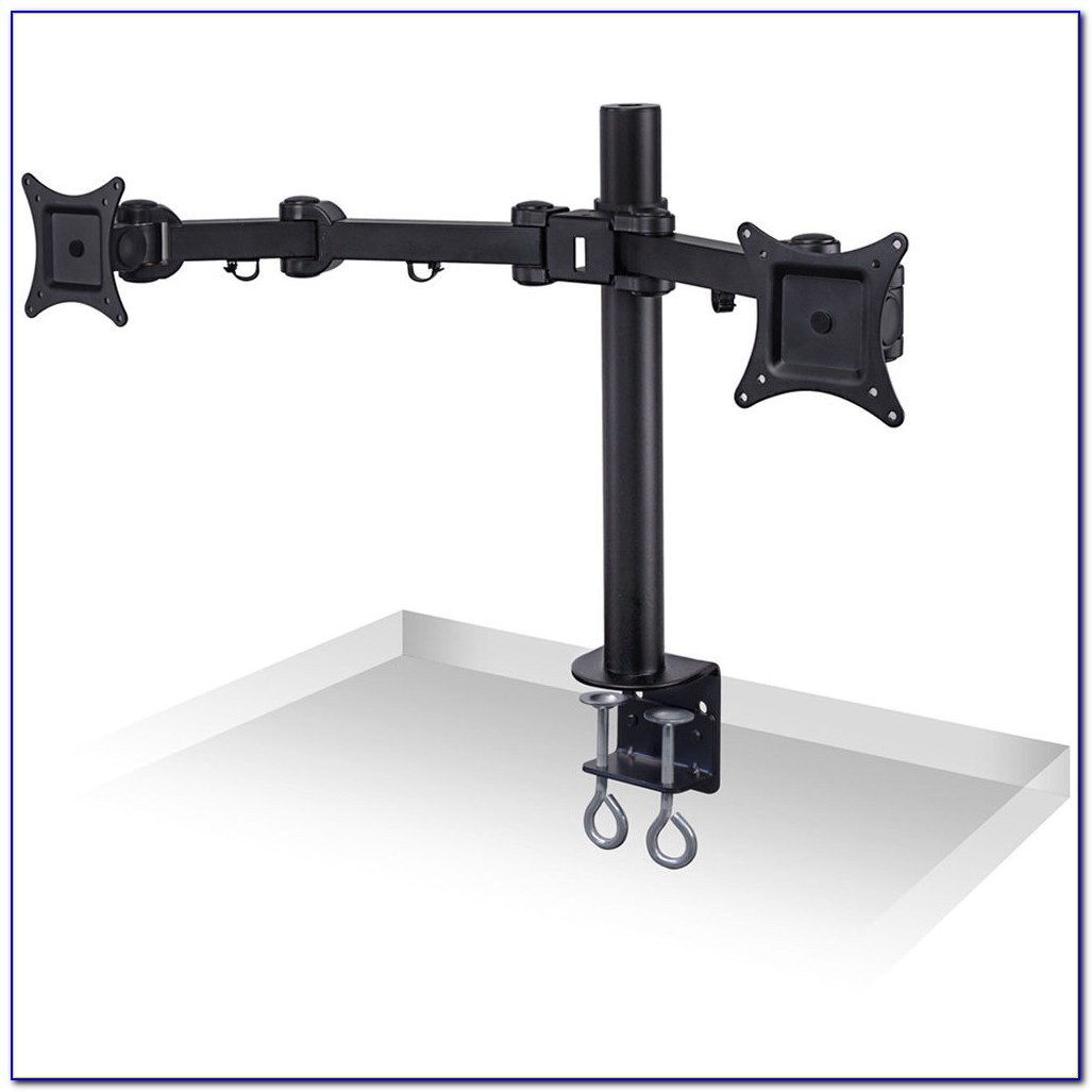 Ergo Lynx Dual Vesa Monitor Arm Stand Desk Mount