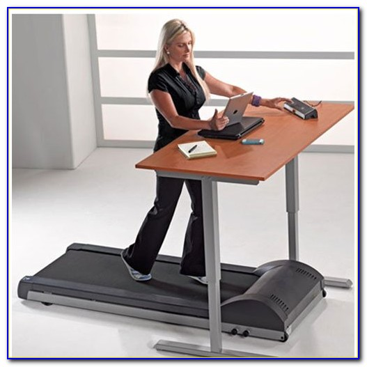 Ergonomic Standing Desk With Treadmill
