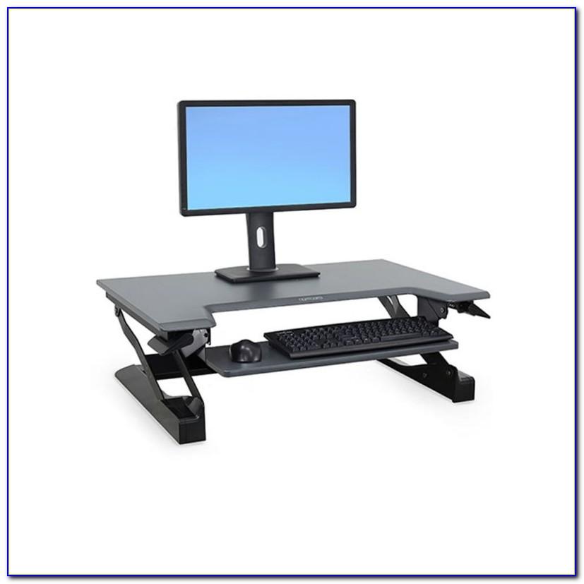 Ergotron Sit Stand Desk Adjustment