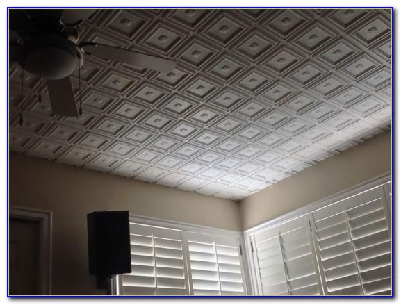 Faux Tin Ceiling Tiles Styrofoam