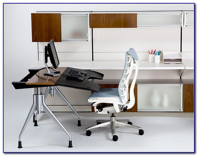 Herman Miller Envelop Desk Used