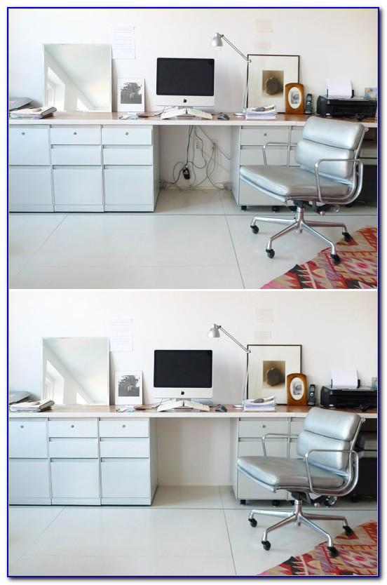 Hide Cords Desk Middle Room