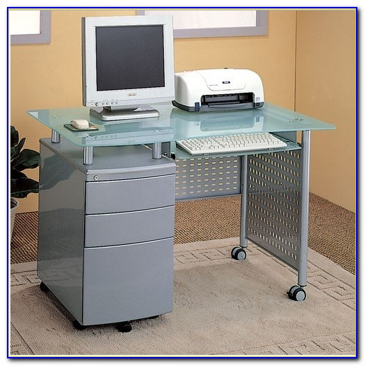 Home Office Desk With Locking Drawers