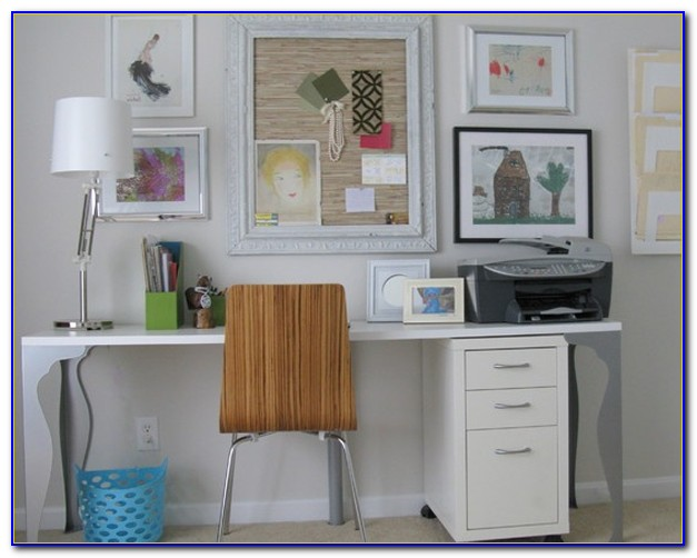 Home Office Double Desk Ideas