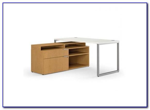 Hon 10500 L Shaped Desk