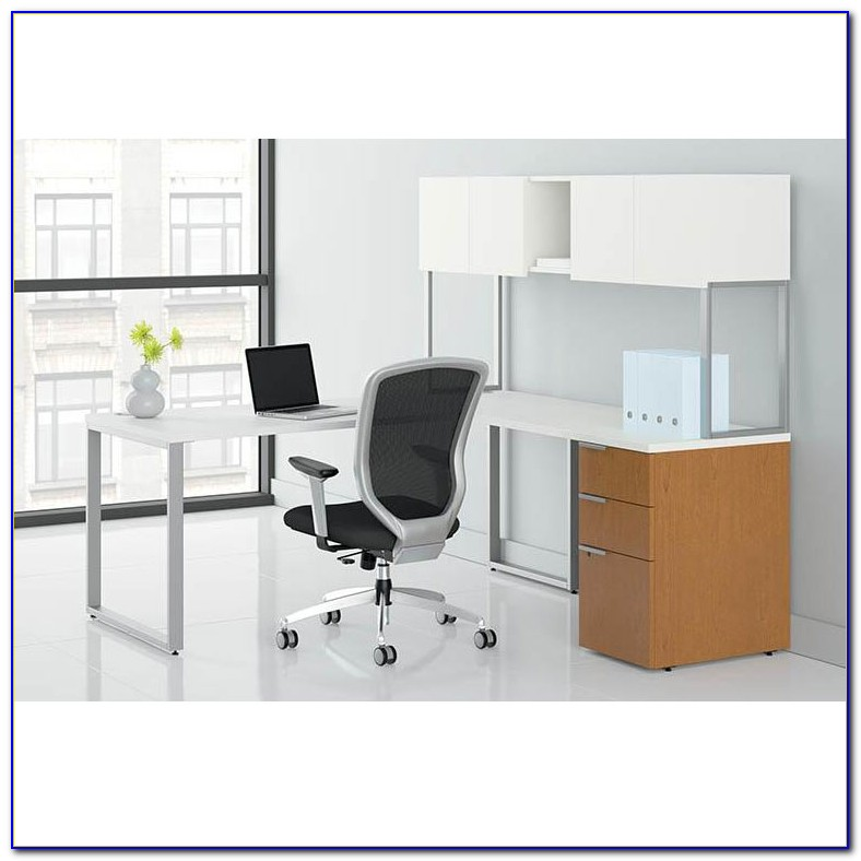 Hon 10700 Series L Shaped Desk