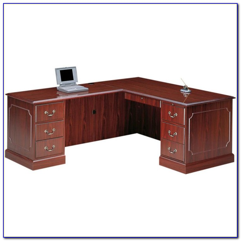 Hon L Shaped Reception Desk