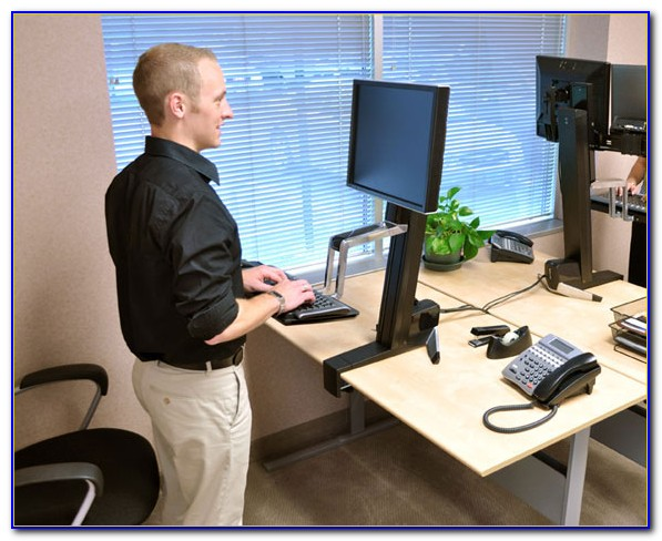 How To Convert Your Work Desk Into A Standing Desk
