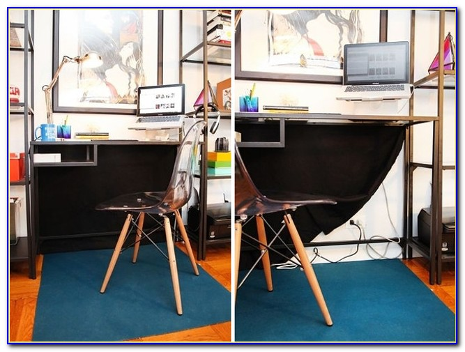 How To Hide Cords On Open Desks