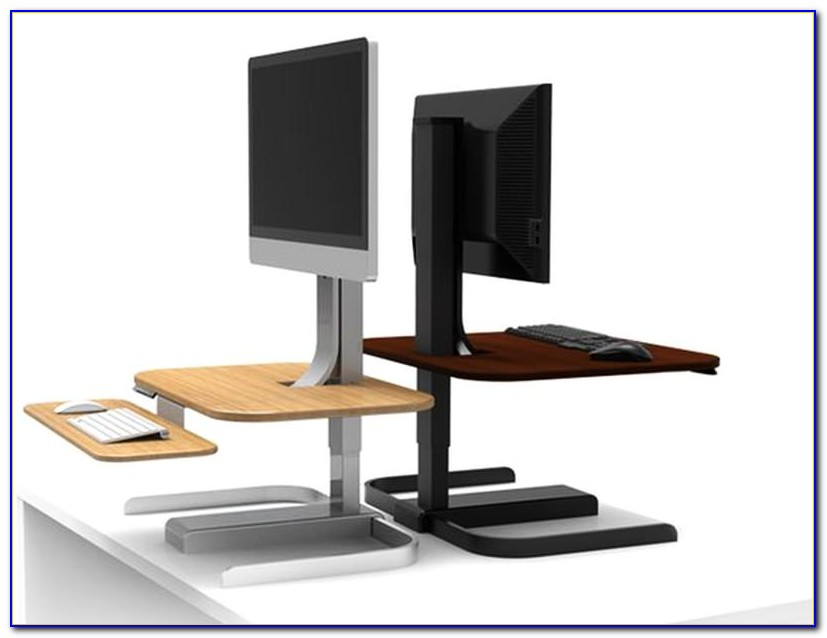 How To Turn Work Desk Into Standing Desk