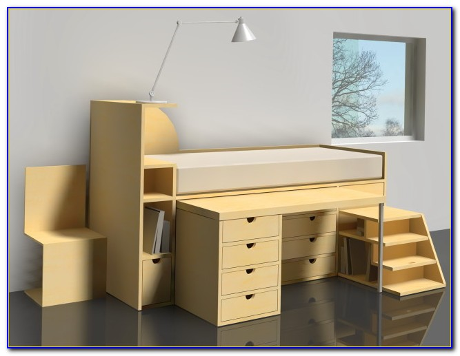 Ikea Bunk Bed With Desk Uk