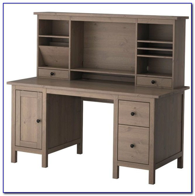 Ikea Secretary Desk With Hutch