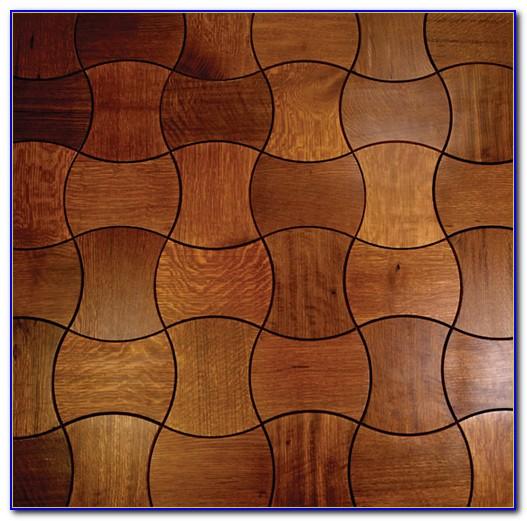 Interlocking Outdoor Wood Floor Tiles