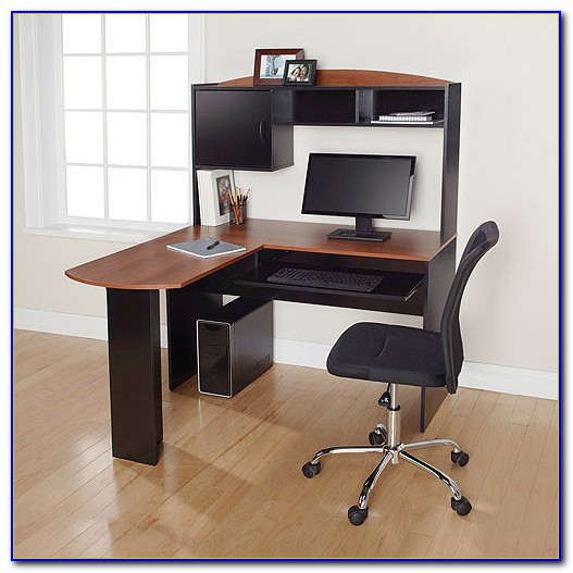 L Shaped Desk With Hutch Office Max