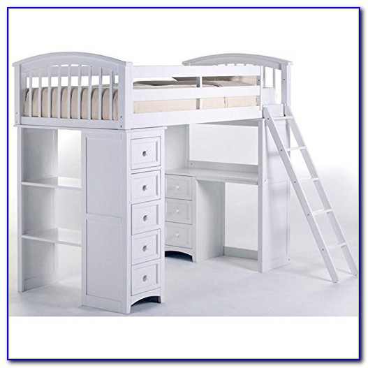 Loft Bunk Beds With Desk And Dresser