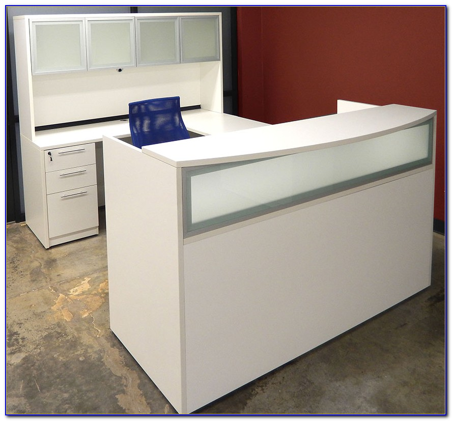 Modern U Shaped Reception Desk