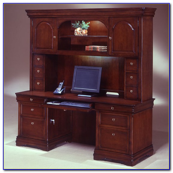 Office Desk With Hutch Used