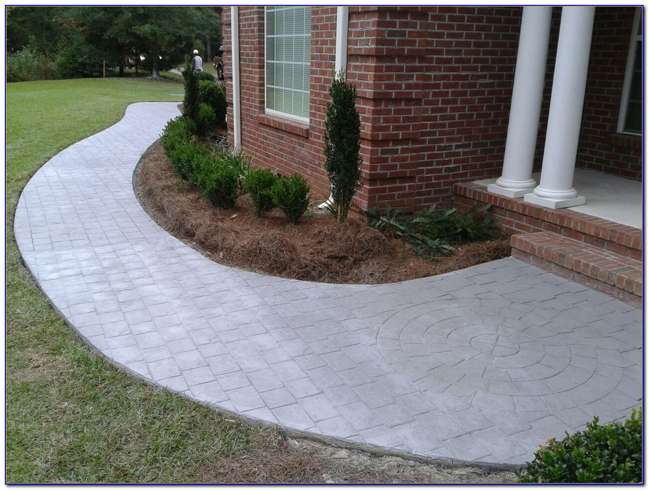 Patio Tiles Over Concrete