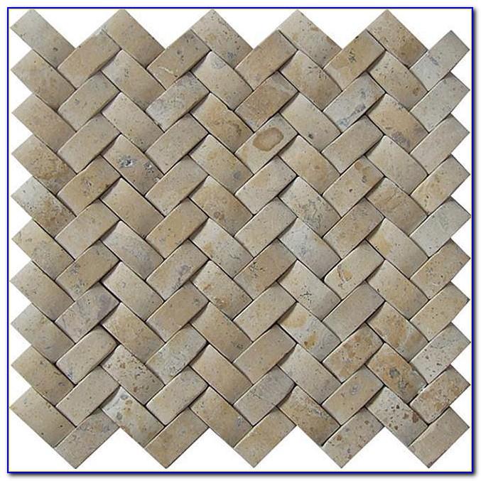 Porcelain Basketweave Tile