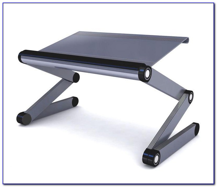 Portable Laptop Desk Table Stand Bed Tv Tray