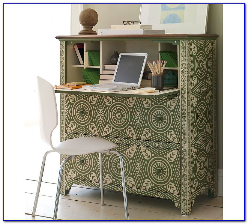 Pottery Barn Graham Desk Hutch Secretary