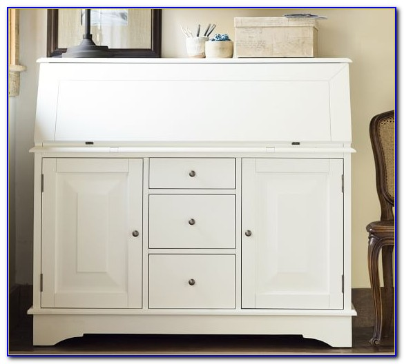 Pottery Barn Sienna Secretary Desk