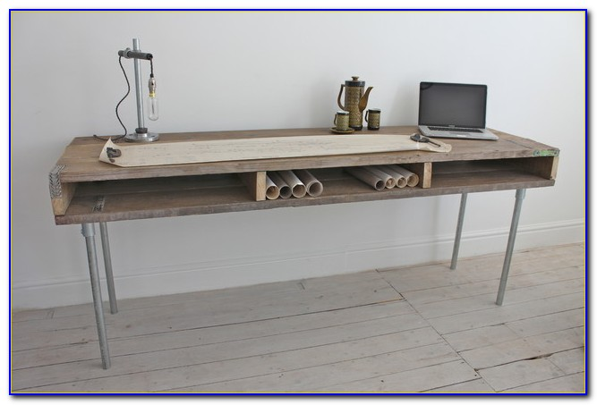 Reclaimed Wood Desk Top Uk