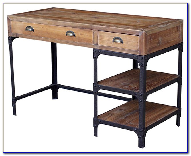 Reclaimed Wood Furniture Writing Desk