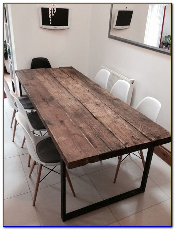 Reclaimed Wood Table Tops For Restaurants