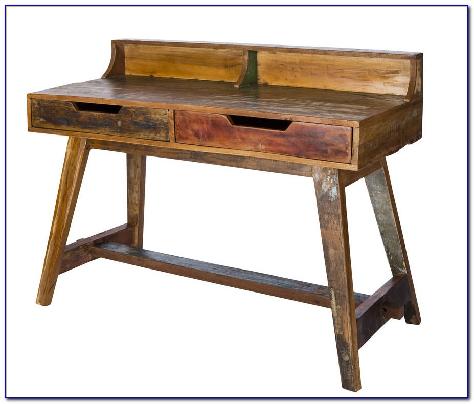 Reclaimed Wood Writing Desk Uk