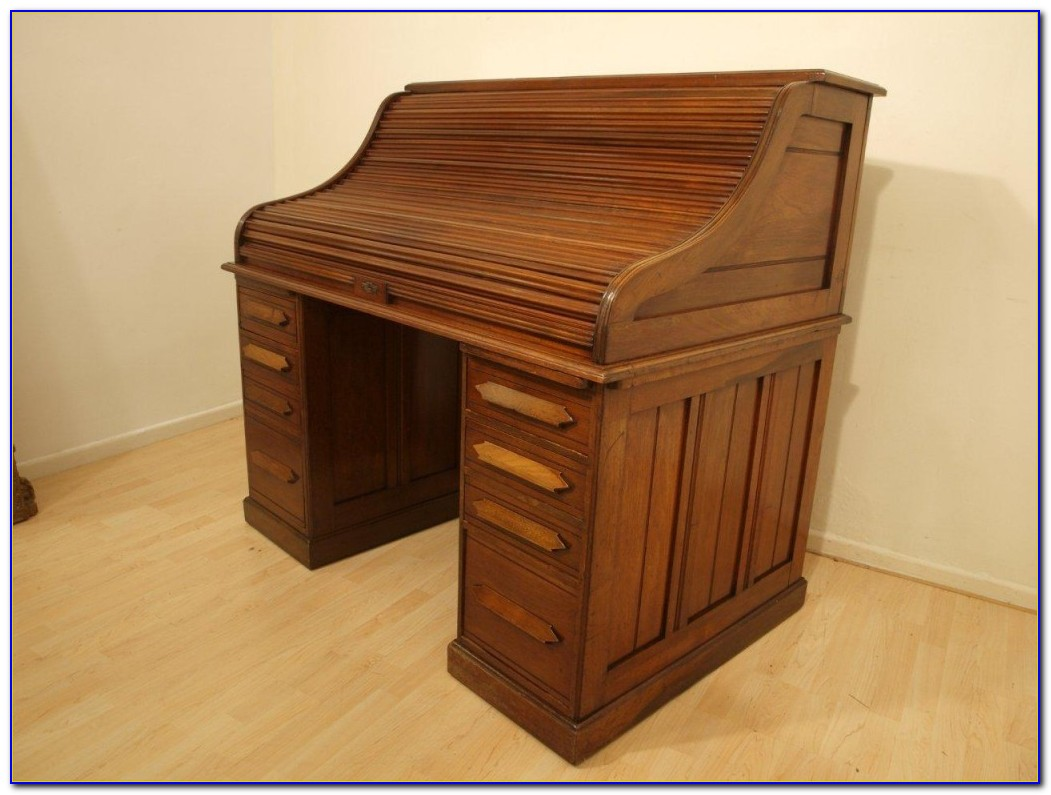 Roll Top Secretary Desk Furniture