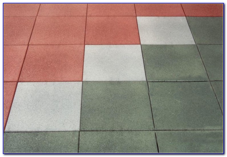 Rubber Floor Tiles For Playground