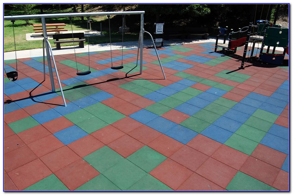 Rubber Flooring For Playgrounds Brisbane