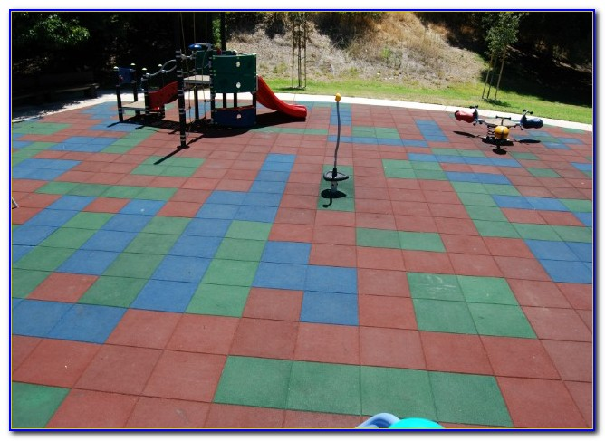 Rubber Tiles For Playgrounds Outdoor