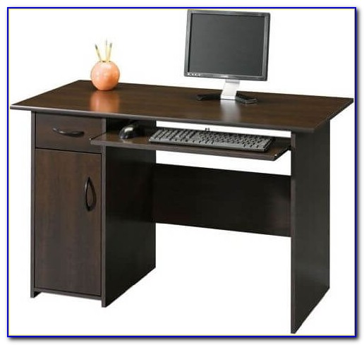 Sauder Beginnings Computer Desk Black