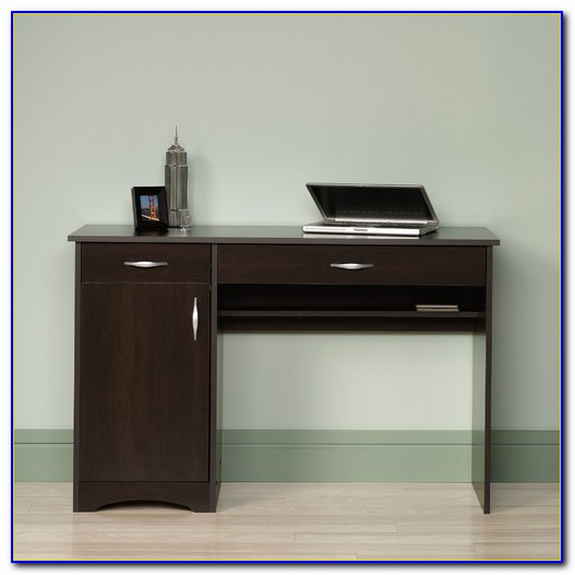 Sauder Beginnings Computer Desk Espresso