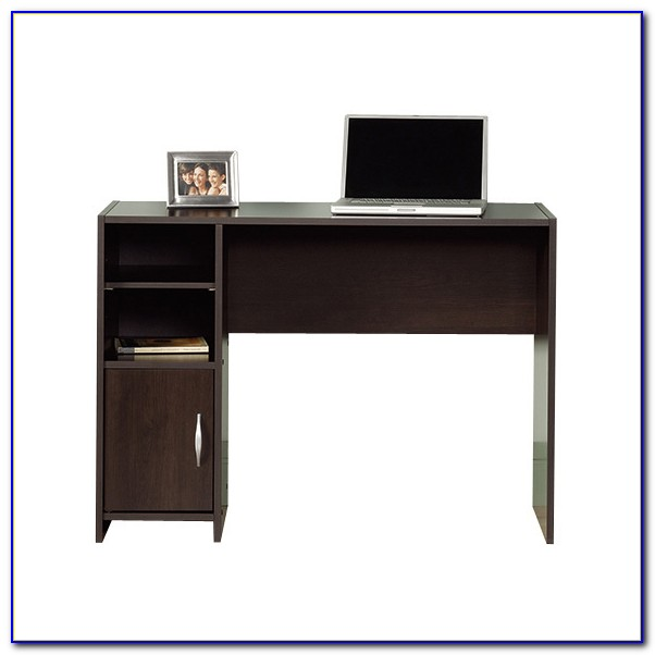 Sauder Beginnings Computer Desk In Pecan