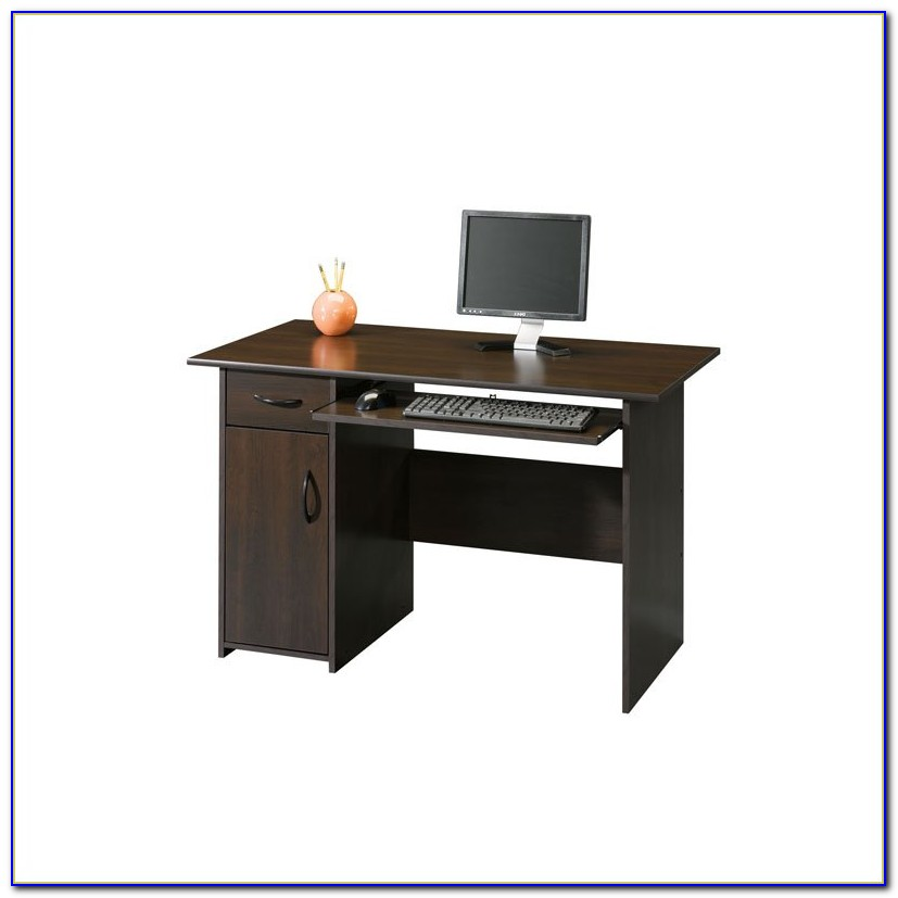 Sauder Beginnings Computer Desk Oak