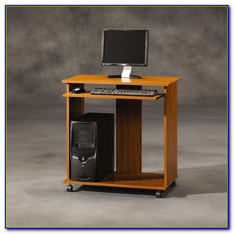 Sauder Beginnings Computer Desk With Cpu Storage Tower