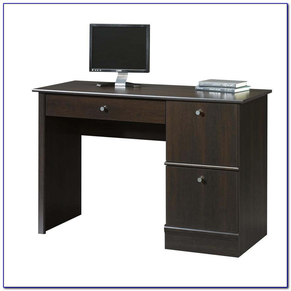 Sauder Corner Computer Desk Cinnamon Cherry