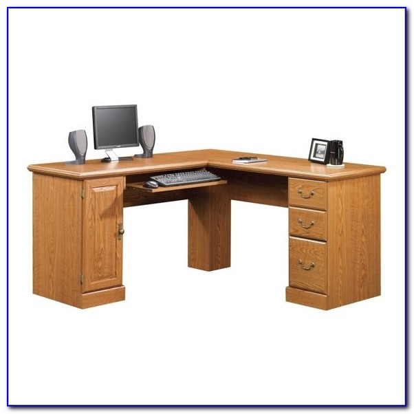 Sauder Corner Computer Desk Tower
