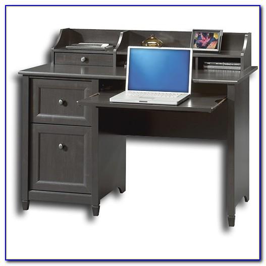 Sauder Edge Water Computer Desk In Auburn Cherry
