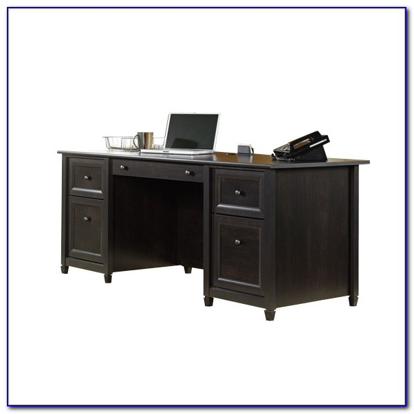 Sauder Edge Water Desk With Hutch