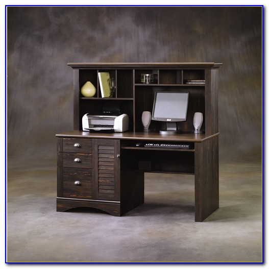 Sauder Harbor View Computer Desk With Hutch Assembly Instructions