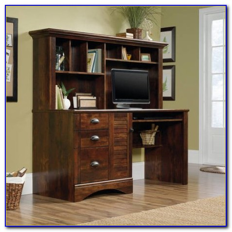 Sauder Harbor View Computer Desk With Hutch Instructions
