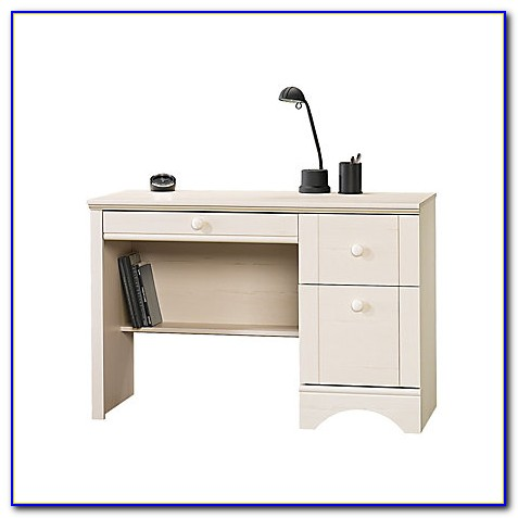 Sauder Harbor View Desk Antique White